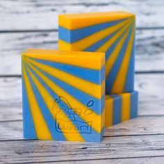 amazing striped bars! - cold process soap by bashkinaolga