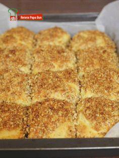 Food Cakes, Cake Cookies, Feta, Knits, Banana Bread, Cake Recipes, Desserts, Pastries, Recipes