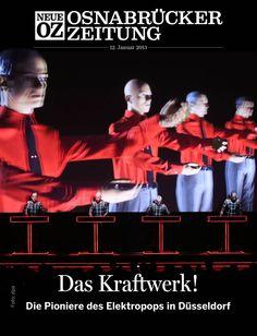 """Unsere aktuelle iPad-Ausgabe beschäftigt sich mit """"Kraftwerk"""" ...  www.noz.de/digitalabo    Foto: dpa"""