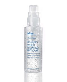 Bliss Lid + Lash Wash Makeup Remover: No stinging, no oil...fantastic!