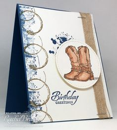 For those country lovers, or simply for those who have eclectic taste, the Country Livin stamp set is sure to … Birthday Cards For Men, Handmade Birthday Cards, Greeting Cards Handmade, Male Birthday, Masculine Birthday Cards, Masculine Cards, Paper Cards, Men's Cards, Boy Cards