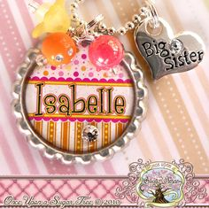 Hey, I found this really awesome Etsy listing at https://www.etsy.com/listing/78272063/big-sister-necklace-personalized-name