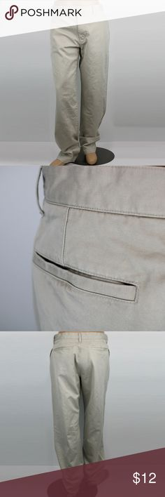 Gap Classic Fit Mens Khakis - 35x34 Mens khakis by Gap in the Classic Fit style.  They are 100% cotton, and are machine wash/dryable.  They are size 35x34.  They have been worn, but are in great condition. GAP Pants Chinos & Khakis