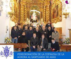 PEREGRINACION DE LA COFRADIA DE LA VIRGEN DE LA AURORA AL SANTUARIO DE ARAS http://glamourlucena.es/?p=4470