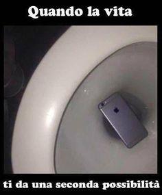 Seconda chance: il telefono è salvo!