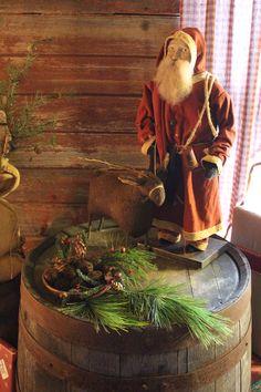 Primitive Arnett Santa.                                                                                                                                                                                 More