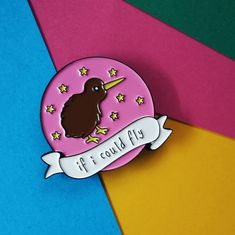 Harry Styles Kiwi, Harry Styles Lyrics, One Direction Lyrics, If I Could Fly, IICF 1D, Harry Styles Enamel Pins, One Direction Enamel Pins, Cute Enamel Pins, Things To Buy