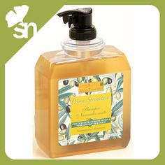 Idea Toscana, Prima Spremitura Body Soap Dispenser 500 ml. With Organic Toscano PGI Extra Virgin Olive Oil. Very smooth and creamy its moisturizing and emollient action is ideal also for sensitive skin. Olive Oil Benefits, Olive Fruit, Body Soap, Hair Shampoo, Shower Gel, Body Wash, Health And Beauty, Perfume Bottles, Fragrance