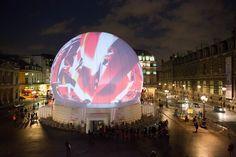 Dome in Vienna named Vienna Sphere