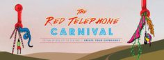 The Red Telephone Carnival 2016 Event Calendar, Telephone, Carnival, Create Yourself, Events, Facebook, Outdoor Decor, Red, Mardi Gras