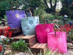 Hey, I found this really awesome Etsy listing at http://www.etsy.com/listing/162631947/monogram-jute-bag-sorority-many-colors