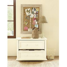 """Home Office Ensemble File Console - 28 1/2""""H X 40 3/4""""W X 19 3/4""""D, available in rubbed black, tuscan cream or tuscan brown."""