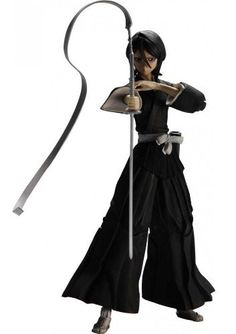 Bleach: Play Arts Kai Rukia Kuchiki Action Figure by Square-Enix. $53.85. Soul Reaper of the 13 Court Guard Companies of the Soul Society.  On her first assignment in the real world Rukia bestowed her powers to Ichigo.