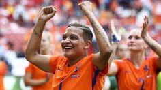 Het EK-duel Nederland-Noorwegen trok gemiddeld 2,1 miljoen tv-kijkers, de Touretappe van gisteren 927.000.