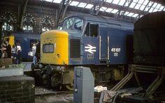 Electric Locomotive, Diesel Locomotive, Euston Station, Uk Rail, Abandoned Train, British Rail, Old Trains, Steam Engine, London