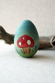Spring Mushroom Story Egg