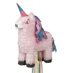 <div>Create some magic at your little girl's birthday party with our Unicorn Pull String Pinata....