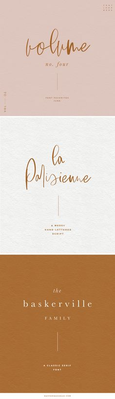 Favorite Fonts of the Month : Vol 04 - Saffron Avenue - www.saffronavenue.com,  Brush Font, Brush Script Font, Hand-lettered font, font pairing, wedding font, stationery fonts, branding, design, brand board, type design, free fonts, modern fonts