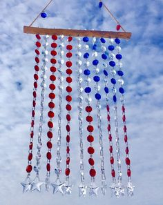 Wire Crafts, Bead Crafts, Diy Wind Chimes, Window Hanging, Beads And Wire, Wire Art, Faceted Crystal, Suncatchers, Chakras