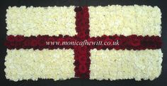 England Flag Funeral Flowers Monica F Hewitt Florist Sheffield