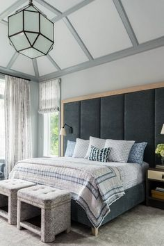51 Cozy Grey Bedroom Designs With Upholstered/Tufted Headboard T Grey Bedroom  Design, Gray