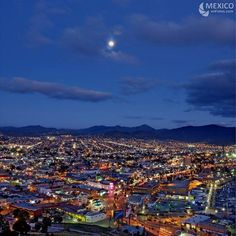 Ensenada, Mexico at night
