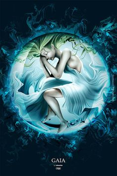 Gaia...She was the daughter of Chaos. She was a primeval goddess, born along with creation itself, and had a large role in the population of the world. She was primarily spoken of as a Mother of other Gods, rather than having her own