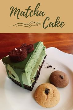 Yummy Cake!! 😍 Matcha Tea Powder, Traditional Bowls, Matcha Cake, Organic Matcha, Fun Desserts, Yummy Cakes, Food And Drink, Stuffed Peppers