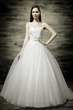 wedding dress. (the one I tried on at the Penventon).