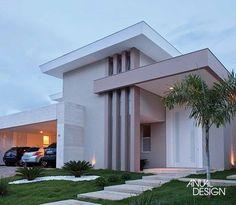 SELEÇÃO DE FACHADAS - ANUAL DESIGN Mais #fachadasmodernassobrado