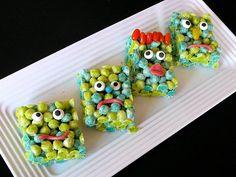 """Monster Trixters - """"Trix"""" Rice Krispie Treats - Fun, tasty treat!"""