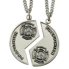 1000 Images About Firefighter Necklaces On Pinterest