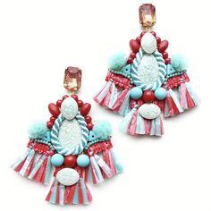 Earrings Handmade, Handmade Jewelry, Hanukkah, Wreaths, Christmas Ornaments, Holiday Decor, Handmade Jewellery, Door Wreaths, Christmas Jewelry