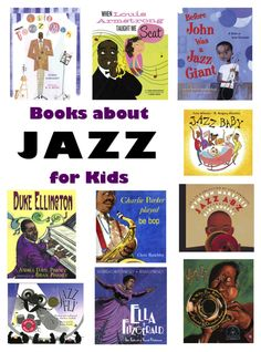 10 Books about Jazz Music for Kids