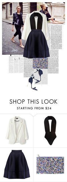 """""""THE CLASSICS [ all in the detail ] by Kayture"""" by marierabier ❤ liked on Polyvore featuring Nicki Minaj, Oris, Boohoo, Maje, Forest of Chintz and Sophia Webster"""