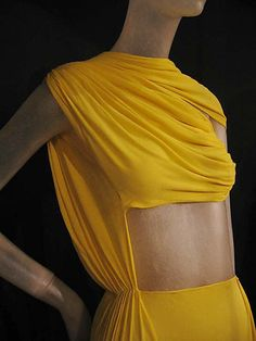 Dress, Evening  Madame Grès (Alix Barton)  (French, Paris 1903–1993 Var region)    Date:      1967