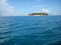 Ilha da Prisão, a melhor praia da costa oeste de Zanzibar, Tanzânia.  Fotografia: Sara A.