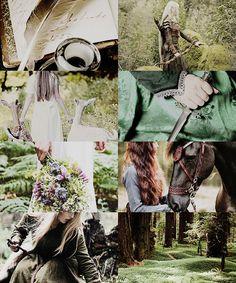 Middle Earth Aesthetics | Elvish Ladies