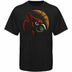 Louisville cardinals basketball shooter shirt official for Louisville t shirt printing
