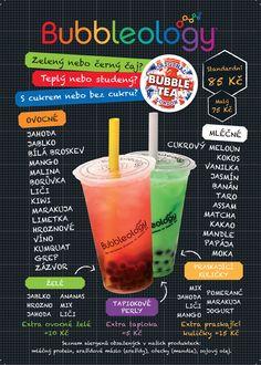 Bubbleology - London Bubble Tea | Jaké příchutě nabízíme?