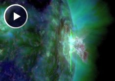 SpaceWeather.com: STRONGEST FLARE OF 2016: Sunspot complex AR2565-AR2567 erupted on July 23rd, twice, producing two strong solar flares in quick succession.