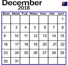 December 2018 Calendar Printable  #CalendarDecember2018