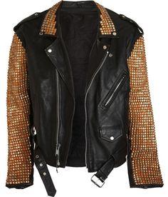 Bess Studded leather jacket