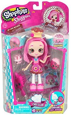 Shopkins Chef Club Shoppies Donatina Doll