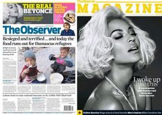 Beyoncé On Cover Of The Observer Magazine