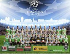 Equipo completo de la temporada 14/15, tercer lugar y clasificado a la Champions