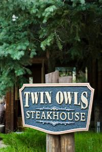 Twin Owls Steakhouse in Estes Park, Colorado. Great steaks!