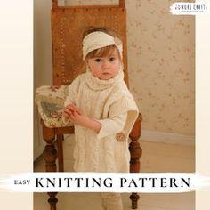 KNITTING PATTERN easy hooded poncho Phoebe x Beginner hooded   Etsy Baby Knitting Patterns, Crochet Poncho Patterns, Crochet Patterns For Beginners, Knitted Poncho, Knitting For Kids, Easy Knitting, Knitting Stitches, Hooded Poncho, Stitch Crochet