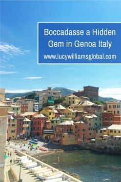 Located in the in the north west of Italy in the region of Liguria, Boccadasse is a hidden gem in Genoa, Italy. It is called the hidden pearl of the city, as it is like you are not in the city. This is a great place to visit in Genoa for half the day, all day or for the evening #boccadasse #genoa #liguria #italy Italy Travel Tips, Europe Travel Guide, Places In Europe, Europe Destinations, Portofino Italy, Genoa Italy, Countries To Visit, Destin Beach, Travel Aesthetic