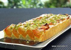 Le mariage abricot pistache reste un classique, je l'avais déjà testé pour un entremets particulièrement apprécié, mais cette année l'été est réservé aux recettes plus simples et plus r…